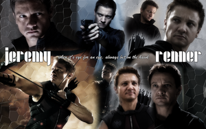 For Lana: Jeremy Renner Wallpaper by KamenRiderReaper