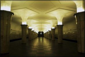 Art of Moscow Metro. 10. by VeIra-girl