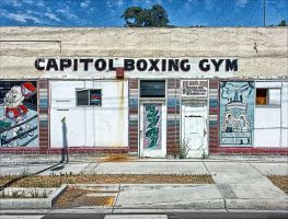 Boxing Gym by fotocali