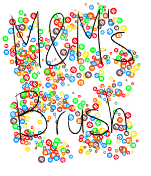 M and Ms Brush by 18Gingasoldier