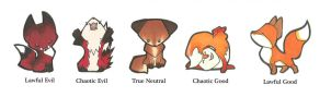 Alignment Foxes by lizspit