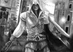 ezio auditore da firenze by marcelkiss