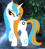 Wet Maned Aperture Science by sjsaberfan