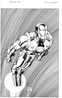 Iron Man Omnibus cover by MarkMorales