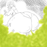 huge poison ivy farting by Dragonicxs