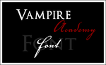 Vampire Academy font by crimson-moon-09