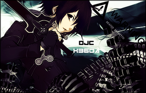 Kirito - The Black Knight by DJConnelly