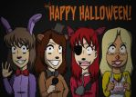 Five Nights of Halloween (MISComic) by MISComic