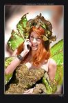 Faerie on the Phone by Lillyxandra