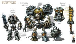 Skeleton Boss Upgrade of concept by GrizzlySword