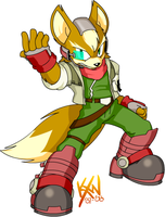 SSB:R2 - Fox by kevinxnelms