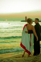 PORTFOLIO-Beach Wedding by BreAnn