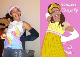 Princess Tamyako - comparison by meganschmidt