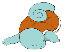Last Minute Squirtle by Art-Stew-Frou-Frou