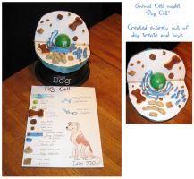 Dog Cell Model by Idess