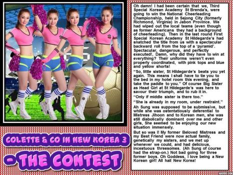 Colette and Co in New Korea 3 - the contest by p-l-richards