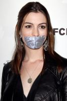 Anne Hathaway taped by ikell
