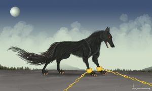 Fenrir by Louisetheanimator
