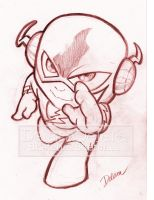 TOYART_SKETCH1_FLASH by CrisDelaraArt