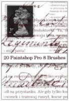 20 gorjuss TXT brushes PSP8 by gorjuss-stock