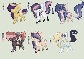 Mystery Palette adopts CLOsed by Rainbow-ninja-adopts