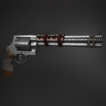 Fallout-Style Smith and Wesson Revolver by JOSHii-Crew