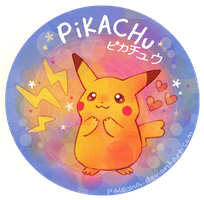 shiny pikachu by Paleona