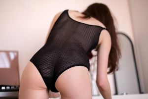 Floriane's black bodysuit by Who-Is-Chill
