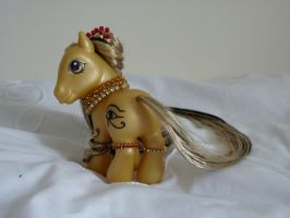 custom my little pony cleopatra 3 by thebluemaiden