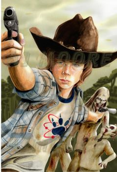 Carl Grimes - by AJ Moore by GudFit