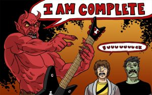 I'm the Devil I love metal by Coelasquid
