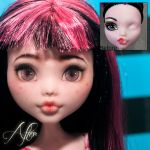 Monster High before and after repaint by AshGUTZ