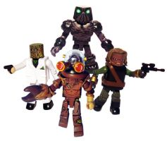 Doctor Who Monsters and Aliens set of 4 by luke314pi