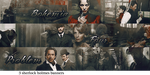 Holmes Banners by alice-castiel