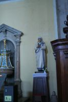 view in church to Saint figure by ingeline-art