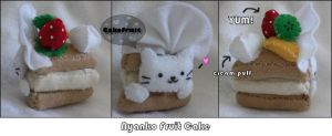 Nyanko Cake by CakeFruit