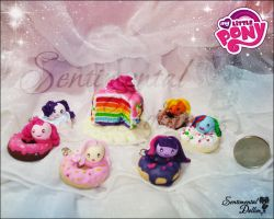 My Little Pony Kawaii Mochi Rice Balls by SentimentalDolliez