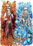 Contest Entry: Fire Prince and Water Princess by Laiden-Cerise