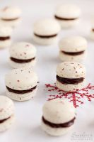 Pink peppercorn macarons by kupenska