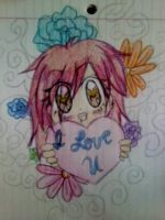 Hold out my Love to you Drawing by InaSaori