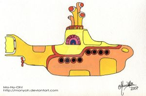 Yellow submarine by MoNyOh