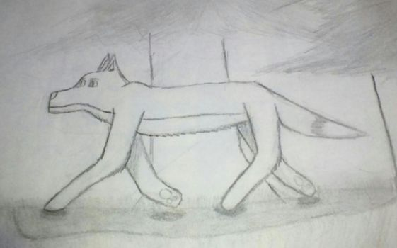 Just a random wolf by privatepolicy99