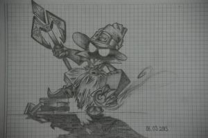 Veigar, The Tiny Master of Evil by JoNuriBrenner
