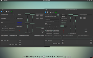 Greyness-Green GTK Theme v1 by CraazyT