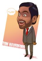 Tom Haverford by Dreviator