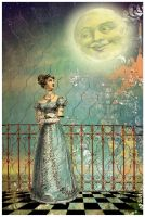 The Man in the Moon by hogret