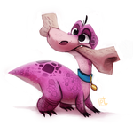 Day 596. Dino RD by Cryptid-Creations