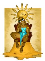 The Sun Goddess by Code-Shark