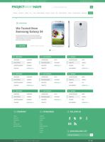 ProjectMustHave Web Design by JawaRacing