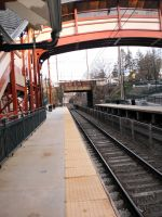 Allen's Lane Station trackage by citynetter
